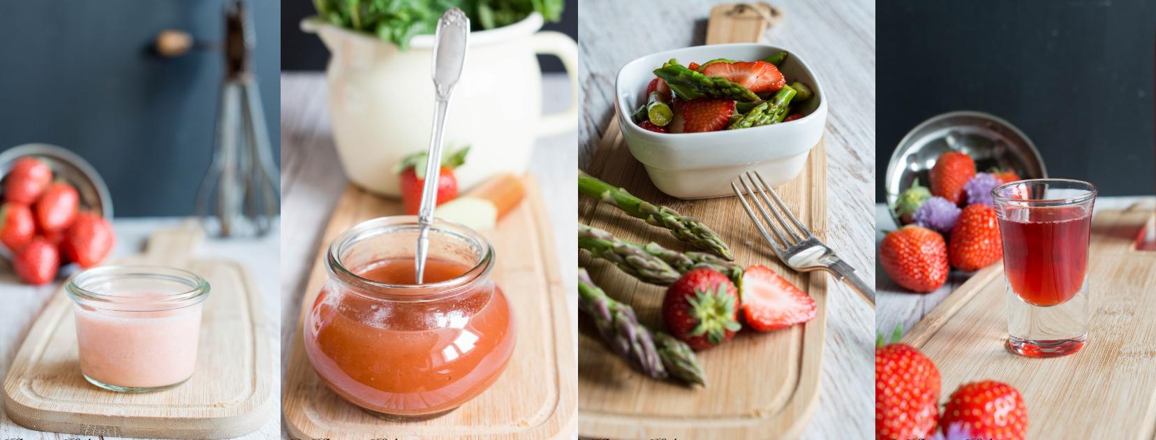 Rezepte mit Erdbeeren - Kleines Kuliversum