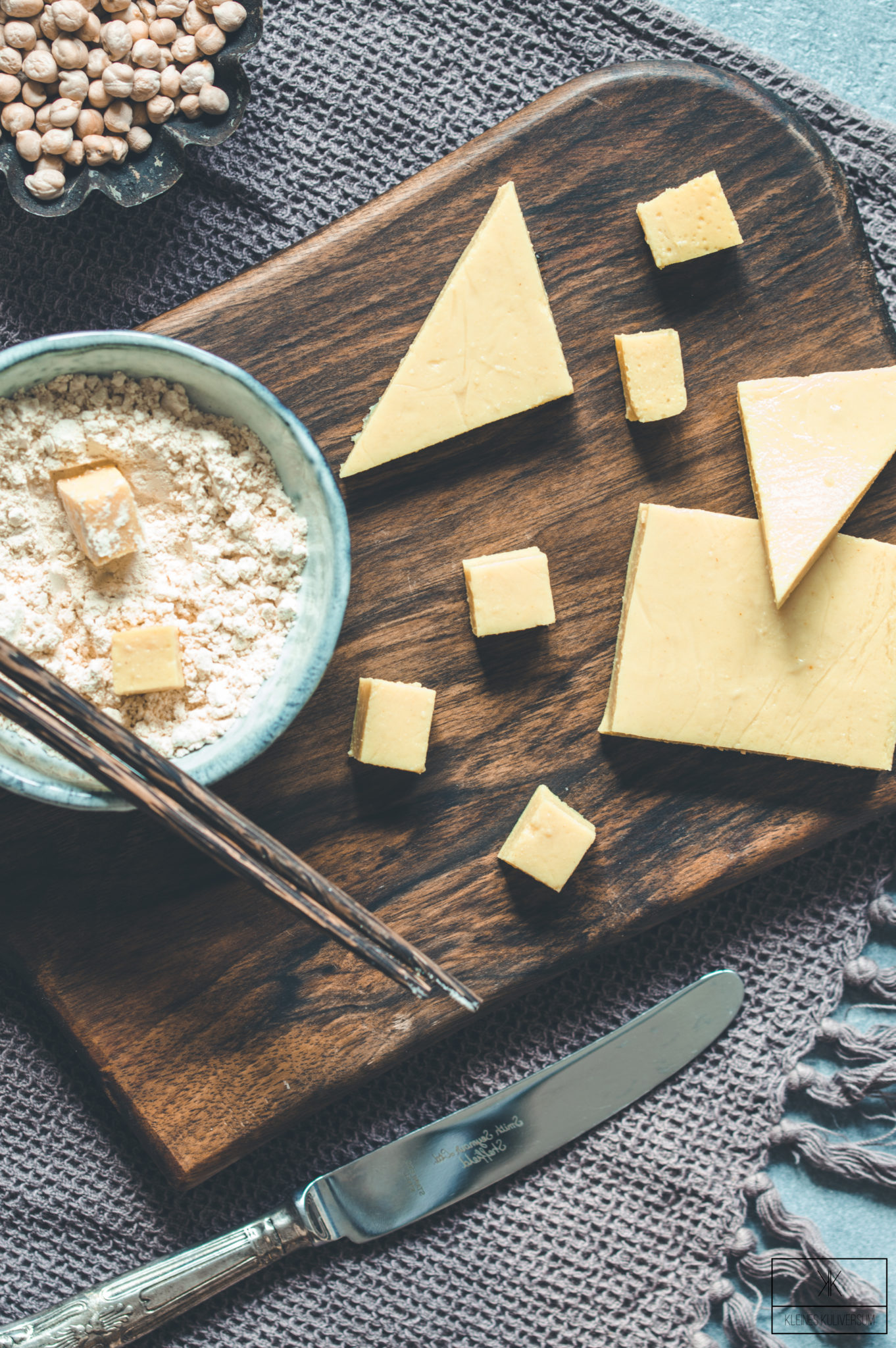 Kichererbsen Tofu