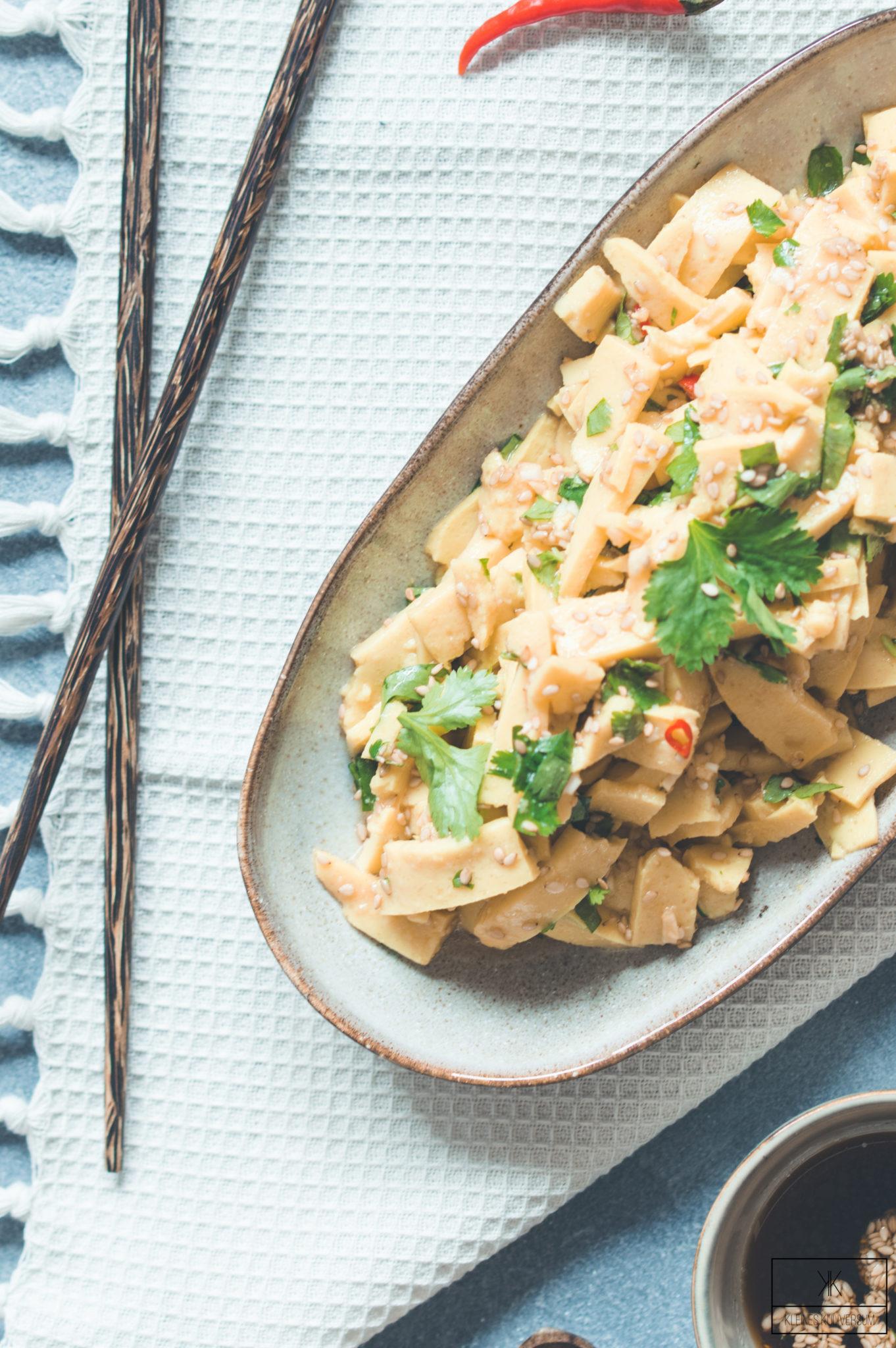 Shan Tofu Salat
